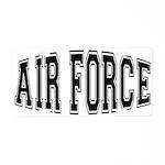 Air Force Aluminum License Plate