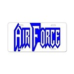 Air Force Aluminum License Plate