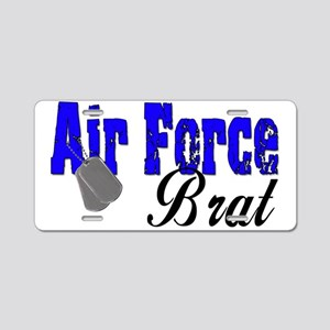 Air Force Brat ver2 Aluminum License Plate
