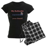 Air Force Wife Authority Women's Dark Pajamas