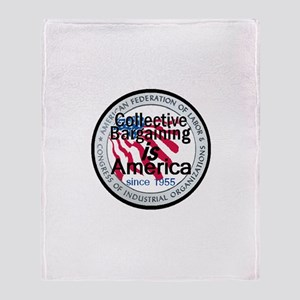 Collective Bargaining Throw Blanket
