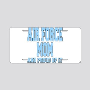 Air Force Mom Aluminum License Plate