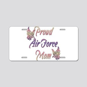 Proud Air Force Mom Aluminum License Plate