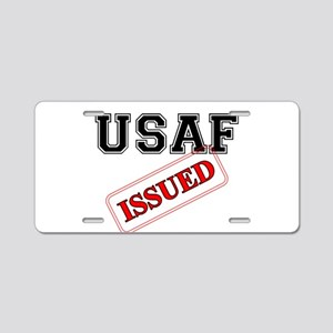 USAF Issued Aluminum License Plate