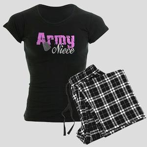 Army Niece Women's Dark Pajamas