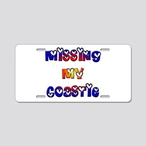 Missing my Coastie Aluminum License Plate
