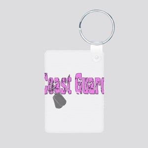 Coast Guard Sister Aluminum Photo Keychain