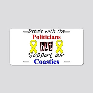 Debate Politicians Support ou Aluminum License Pla
