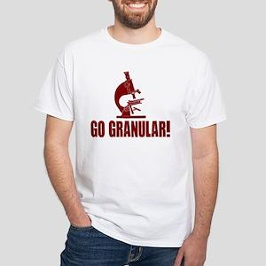 Go Granular! White T-Shirt
