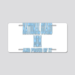 National Guard Mom Proud Aluminum License Plate