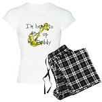 Gold Navy Pick up my Daddy Women's Light Pajamas