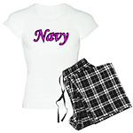 Pink and Black Navy Women's Light Pajamas