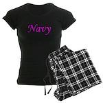 Pink and Black Navy Women's Dark Pajamas