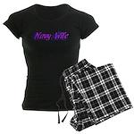 Navy Wife ver2 Women's Dark Pajamas