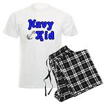 Navy Kid (blue) Men's Light Pajamas