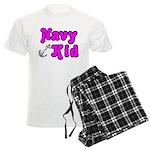 Navy Kid (pink) Men's Light Pajamas