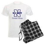 Proud Navy Mom Men's Light Pajamas
