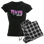 Navy Aunt Women's Dark Pajamas