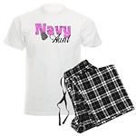 Navy Aunt Men's Light Pajamas