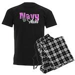 Navy Aunt Men's Dark Pajamas