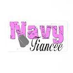 Navy Fiancee Aluminum License Plate