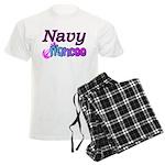 Navy Fiancee Men's Light Pajamas