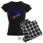 USN Issued Women's Dark Pajamas
