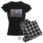 F-18 Hornet Women's Dark Pajamas