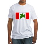 Irish Canadian Fitted T-Shirt