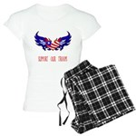 Support our Troops Heart Women's Light Pajamas