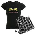 I Love My Boobees Women's Dark Pajamas