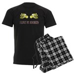 I Love My Boobees Men's Dark Pajamas