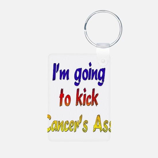 Kick Cancer's Ass ver2 Keychains