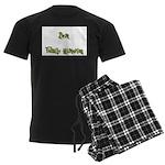 Best Family Historian Men's Dark Pajamas
