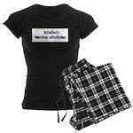 Leviner Family Historian Women's Dark Pajamas
