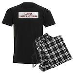 Leviner Family Historian Men's Dark Pajamas
