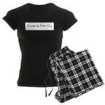 Owens Family Women's Dark Pajamas