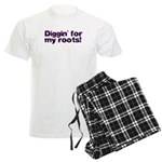 Diggin' for my roots Men's Light Pajamas