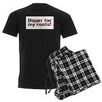 Diggin' for my roots Men's Dark Pajamas