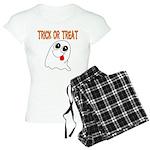 Trick or Treat Ghost Women's Light Pajamas