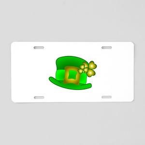 Kiss Me I'm Irish Hat Aluminum License Plate