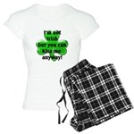 Not Irish, Kiss Me Women's Light Pajamas