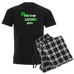 My Lucky Shirt Men's Dark Pajamas