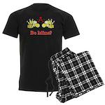 Be Mine Bees Men's Dark Pajamas