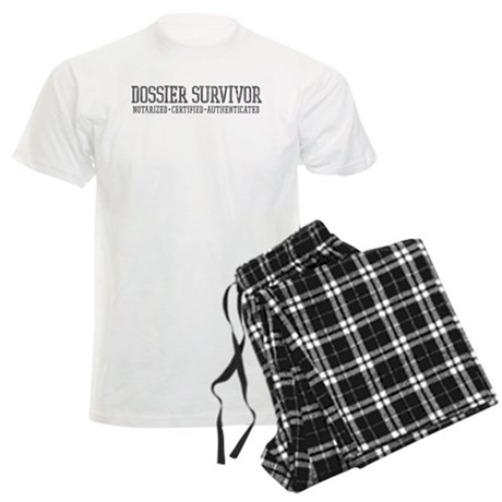 Dossier Survivor (grey) Men's Light Pajamas