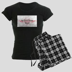 Red Thread Grandma (Paternal) Women's Dark Pajamas