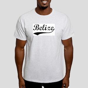 Vintage Belize Ash Grey T-Shirt