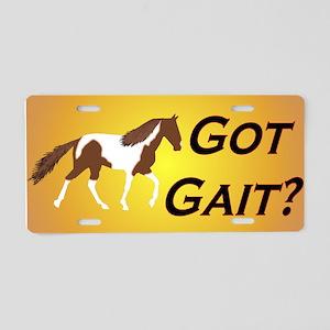 SSH Got Gait? Aluminum License Plate