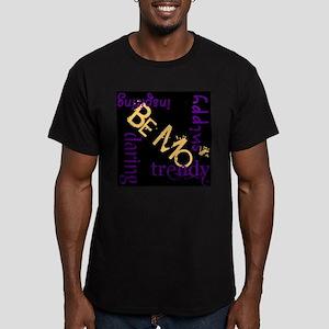 Be Mo' Dark Men's Fitted T-Shirt (dark)