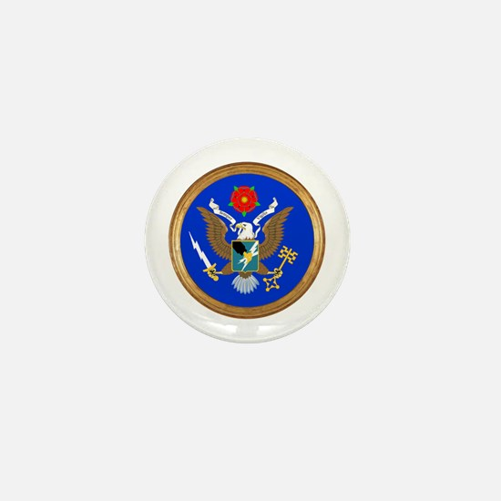 The Great Army SIGINT Seal Mini Button